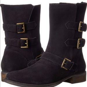 Steve Madden ALTTA Grey (Black) Suede Boots